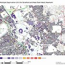 Multiple Deprivation Stratford & New Town ward, Newham by ianturton