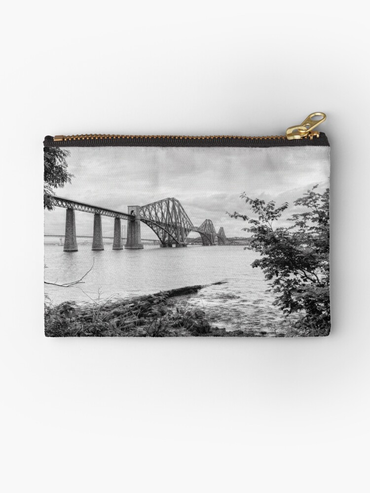 Forth Bridge, Fife, Scotland by Jeremy Lavender Photography