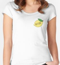 Bitter! Women's Fitted Scoop T-Shirt