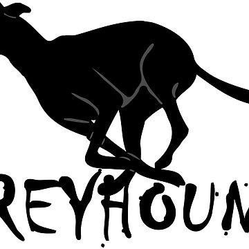 Greyhound Logo by PaperGoblin