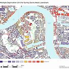 Multiple Deprivation Surrey Docks ward, Lewisham by ianturton