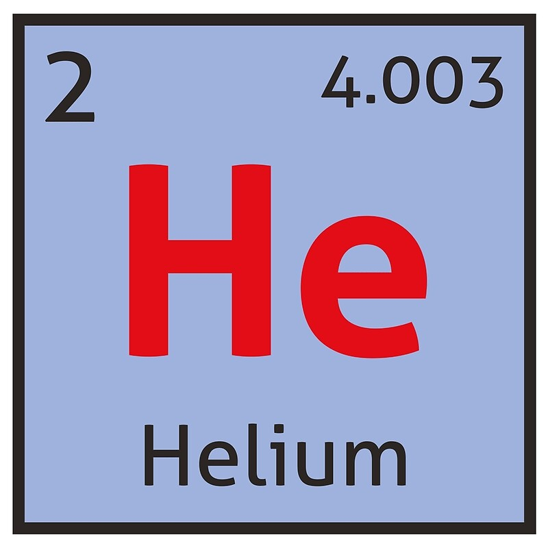 The periodic table helium framed prints by destinysagent redbubble the periodic table helium by destinysagent urtaz Images