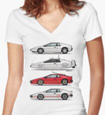 Esprit Spy Quartet Fitted V-Neck T-Shirt