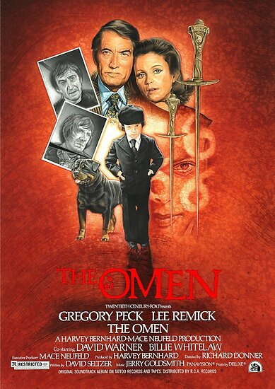 Quot The Omen 40th Anniversary Poster Quot Poster By