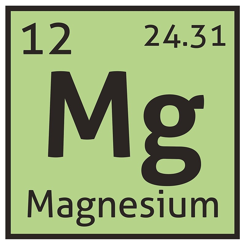The periodic table magnesium posters by destinysagent redbubble the periodic table magnesium by destinysagent urtaz Choice Image
