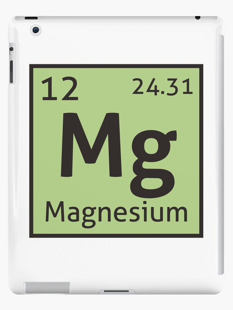 The periodic table magnesium ipad cases skins by destinysagent the periodic table magnesium by destinysagent urtaz Image collections