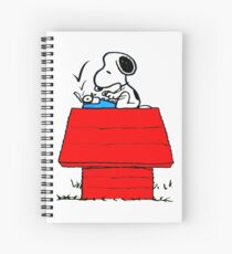 Snoopy, dogs happy Spiral Notebook