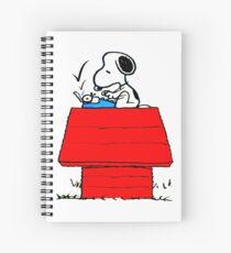 Snoopy, Hunde glücklich Spiralblock