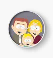 Butters Family Portrait Clock