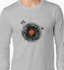 Enchanting Vinyl Records Vintage Long Sleeve T-Shirt