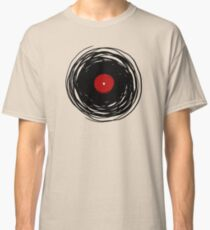 Spinning within with a vinyl record... Classic T-Shirt