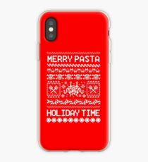 Christmas Flying Spaghetti Monster iPhone Case