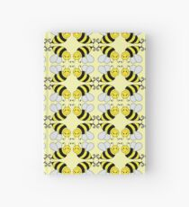 Bumble Bee Pattern  Hardcover Journal