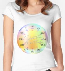 KolorKloc - Time Is Our Relative Women's Fitted Scoop T-Shirt