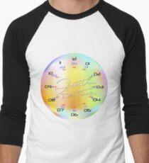KolorKloc - Time Is Our Relative Men's Baseball ¾ T-Shirt