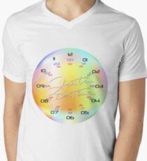 KolorKloc - Time Is Our Relative Men's V-Neck T-Shirt