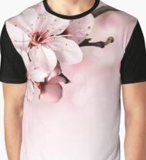 Pink flora Graphic T-Shirt