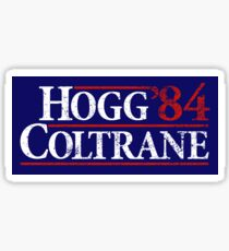 Dukes of Hazzard - Hogg Coltrane 84 (Reagan Bush 84) Sticker