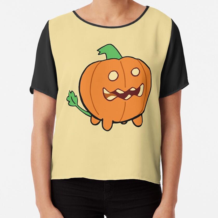 Steven Universe Pumpkin Chiffon Top