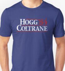 Camiseta unisex Duques de Hazzard - Hogg Coltrane 84 (Reagan Bush 84)