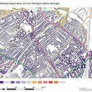 Multiple Deprivation Tollington ward, Haringey by ianturton
