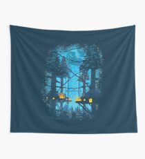 Ewok Village Wall Tapestry