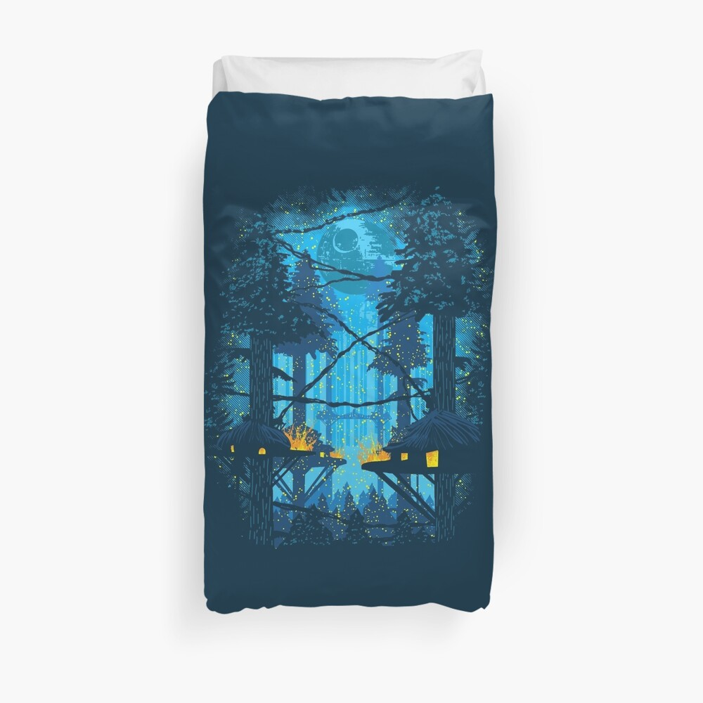 Ewok Village Duvet Cover
