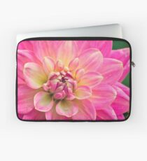 Beautiful Pink Dahlia Flower Laptop Sleeve