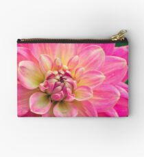 Beautiful Pink Dahlia Flower Studio Pouch