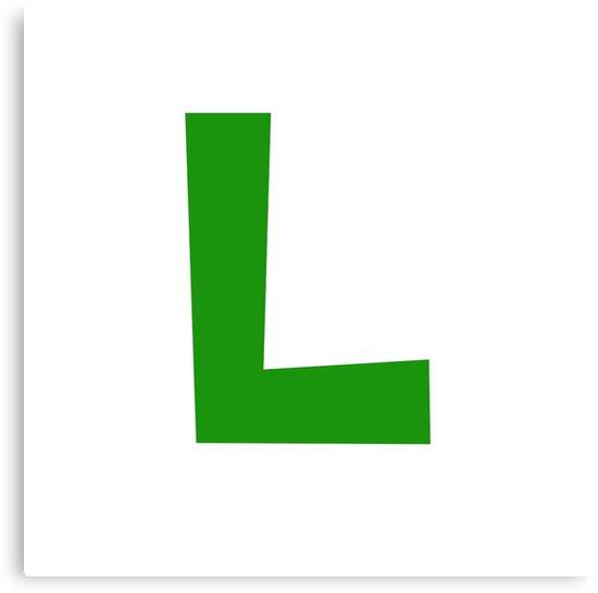 Luigi Emblem by joeredbubble