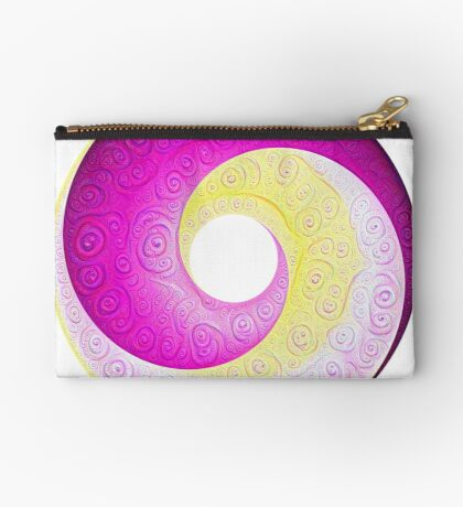 #DeepDream Color Circles Visual Areas 5x5K v1448901772 Zipper Pouch