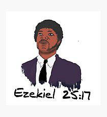 Ezekiel 25:17 Photographic Print