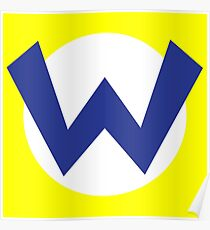 Wario Emblem Poster