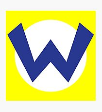 Wario Emblem Photographic Print