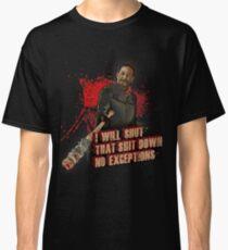 Negan Walking Dead Classic T-Shirt