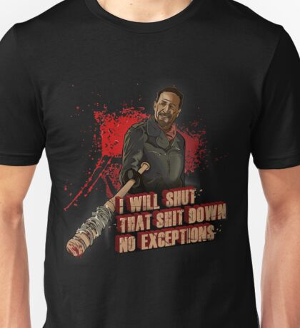 Negan Walking Dead Unisex T-Shirt