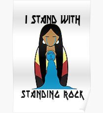 Water Is Life -Standing Rock- Poster