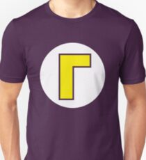 Waluigi Emblem Unisex T-Shirt