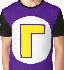 Waluigi Emblem Graphic T-Shirt