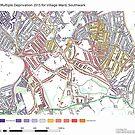 Multiple Deprivation Village ward, Southwark by ianturton