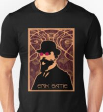 Erik Satie's Purple Dream Unisex T-Shirt