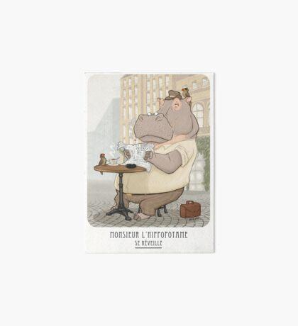 Mr. L'Hippopotame Art Board