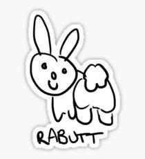 Rabutt Sticker