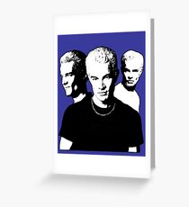 A Trio of Spike Greeting Card