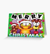 GARFIELD CHRISTMAS 5 Greeting Card