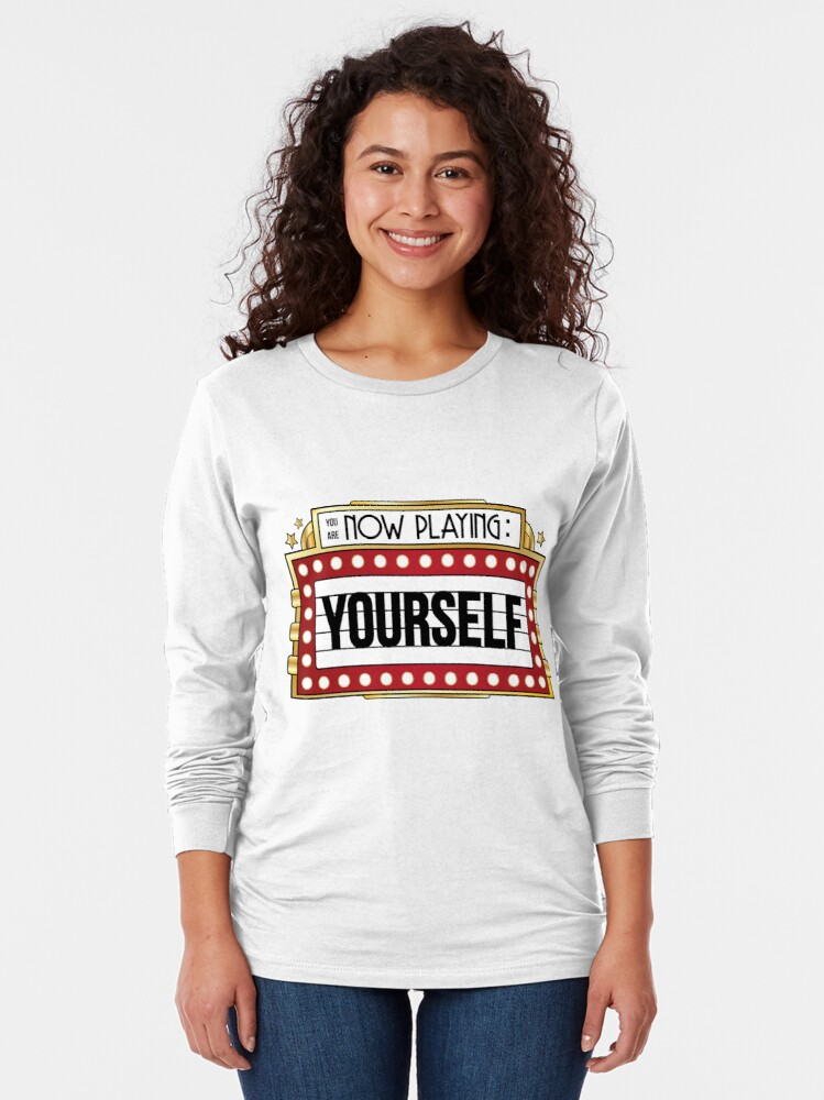 Alternate view of You're Playing Yourself Long Sleeve T-Shirt