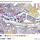 Multiple Deprivation Westbourne ward, Westminster by ianturton