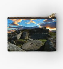 Curbar edge sunrise Studio Pouch