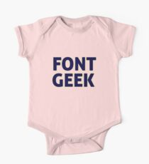 Font Geek One Piece - Short Sleeve