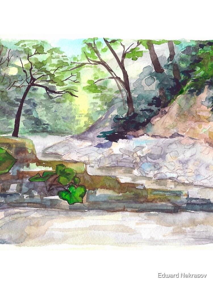 Mountain river by Sadykova
